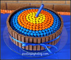 Nerf Gun Birthday Party Birthday Cake