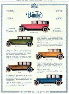 Daimler, 1927