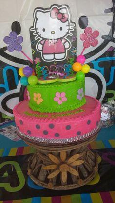 My Hello kitty cake (Jannay 8 party) €£@