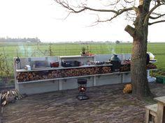 WWOO Outdoor Kitchen by Piet-Jan van den Kommer | www.vandenkommer.nl & www.wwoo.nl