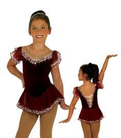 Great cutesy figure skating dress.