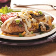 Fiesta Smothered Chicken Recipe from Taste of Home -- shared by Teres Jones of Ashdown, Arkansas