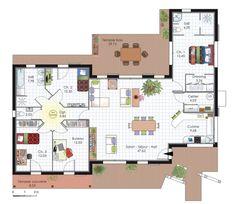 1000 ideas about maison plein pied on pinterest plan maison plan maison 4 - Architecte maison de luxe ...
