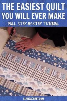 Quilting For Beginners, Quilting Tips, Quilting Tutorials, Machine Quilting, Sewing Tutorials, Sewing Tips, Sewing Hacks, Baby Quilt Tutorials, Beginner Quilting