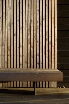 JOARC I ARCHITECTS • architectural details, timber cladding, timber bench