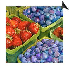 Strawberry, Framed Art and Prints at Art.com