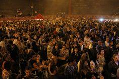 Asistentes al concierto de celebración de los 40 años de la UM.