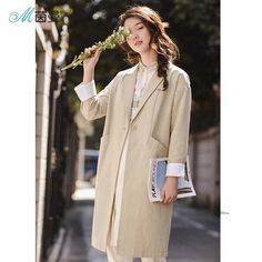 INMAN 2018 New Products Women Spring Clothes Cotton Solid Color Suit Jacket Coat. Yesterday's price: US $86.92 (71.30 EUR). Today's price: US $44.33 (36.51 EUR). Discount: 49%.