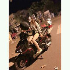 Uzzlang Girl, Racing Team, Custom Motorcycles, Biker, Vehicles, Motorcycle Girls, Motorbikes, Car, Custom Bikes