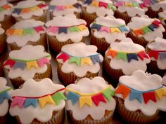 CupCake para festinhas juninas. Festa Junina. Arraiá do Nordeste. Brazilian June Party.