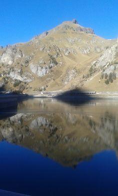 Passo Fedaia - la diga