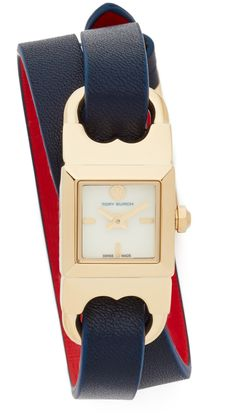 The Gemini Link Duo Strap Watch