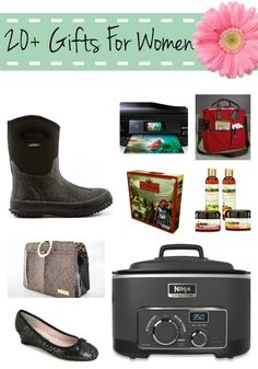 20+ gift ideas for women - moms, wives, girlfriends + more for christmas birthdays mothers day & more!