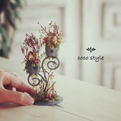 2017. 07. Miniature flowers ♡ ♡  By cocostyle