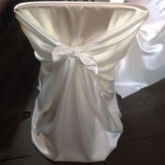 WEDDING RENTALS MADE EASY! The Universal Chair Cover In Off White Satin! Events by @estrellasdecor!  Still looking for the perfect chair cover rental for your wedding venue? We can help. Ck out these beautiful off white satin universal chair covers we used for one of our wedding events in Oxnard, CA. The bride and groom got getting married in their 60s. How AMAZING is that? It was a beautiful wedding celebration to be a part of!  What will your chair cover rentals look like on your big day? Wedding Rentals, Wedding Events, Our Wedding, Chair Cover Rentals, Chair Covers, White Satin, Celebrity Weddings, Getting Married, Make It Simple