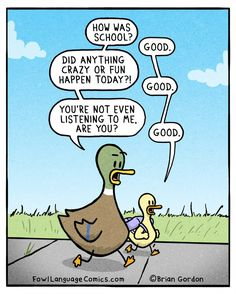 Fowl Language: Good