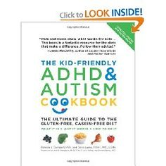 A good start for parents looking for a non-medical way to treat their child's Autism or ADHD.  This offers several great tasting gluten-free and casein-free recipes.