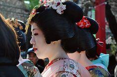 Geisha at Asakusa