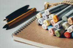Two ways to level up your analogue planner or bullet journal Design Thinking, Design Blog, Free Design, Layout Design, Logo Design, Digital Communication, Workshop, Best Online Courses, Conceptual Design