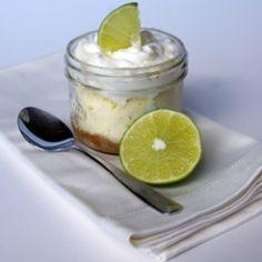 Microwave Lime Cheesecake