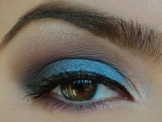 Night Out Makeup Look   Blue and Purple