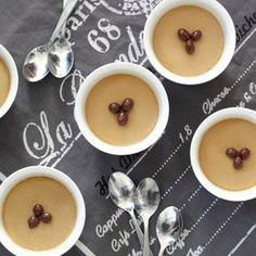Espresso Pots de Creme: With their velvety texture, these coffee flavored Pots de Creme are a sublime eating experience!