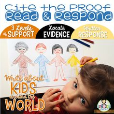 Citing Evidence *Written Response with Text Proof *FREEBIE