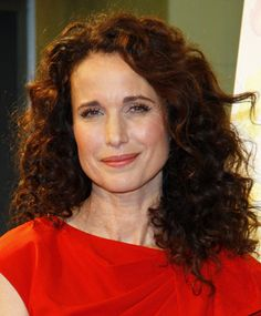 """Andie MacDowell-I remember her most from """"Groundhog Day""""- a great movie!"""