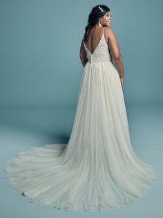 cbe2192853bf Maggie Sottero Charlene Lynette. Slit Wedding DressFitted Wedding GownMaggie  ...