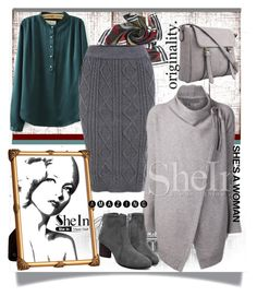 """""""shein 8"""" by amelakafedic ❤ liked on Polyvore featuring H&M, vintage and shein"""