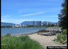 #Kitsilano Beach, #Vancouver Canada Les 10 plus belles plages au monde (PHOTOS)