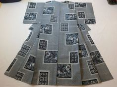 Japanese Vintage Kimono Yukata Cotton Blue and White P012575 | eBay