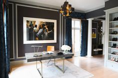 """Friday Fashion: A """"Dream"""" Office by Catherine Kwong - Interiors. Fashion. Modern. Glamour. - Sukio"""
