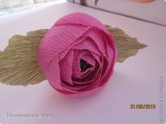 Creative Ideas - DIY Chocolate English Rose 21