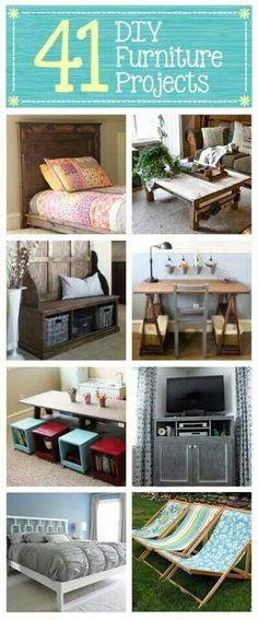 Exceptionnel DIY Furniture Plans U0026 Tutorials : Lots Of Great Handmade Furniture U2013 41 DIY  Furniture Projects U2013 DIY U0026 Crafts  Read