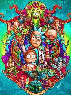 Trippy Wallpaper, Graffiti Wallpaper, Cartoon Wallpaper Iphone, Graffiti Art, Rick And Morty Image, Rick I Morty, Cr7 Wallpapers, Best Gaming Wallpapers, Rick And Morty Drawing