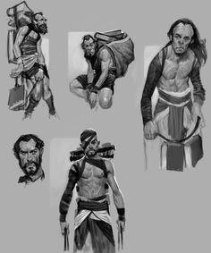 God of War: Ascension - Orkos Concept