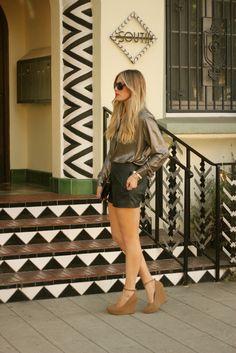 Devon Rachel: Metallics & Leather