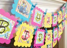 Alla ricerca di una perfetta felice compleanno Banner - senti nessun ulteriore! Questo banner dice, Happy (età) compleanno 2 su più livelli