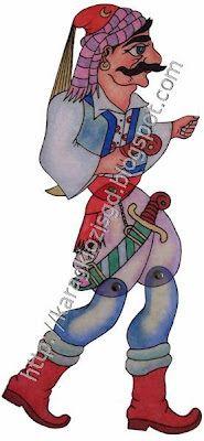 ΒΕΛΗΓΚΕΚΑΣ Διάσταση 36 εκ Χ 12 εκ Shadow Theatre, Puppet Theatre, Shadow Puppets, Paper Dolls, Greece, Turkey, Houses, Animals, Art