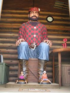 Paul Bunyan Land, Brainerd MN. He said your name when you came in!