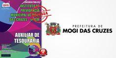 Saiba Mais -  Apostila IPREM Mogi das Cruzes - Auxiliar de Tesouraria  #Aprovado