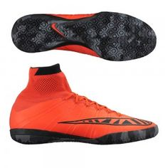 sale retailer a29f9 ef7d3 Cheap Nike MercurialX Proximo IC Indoor Soccer Shoes-Bright Crimson Black