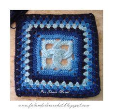 SPEAKING OF CROCHET: BLUE crochet squares