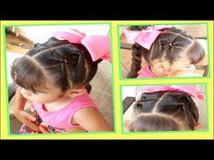 Colitas con Nudo Celta - Celtic Knot Pigtails   Peinados para Niñas   Peinados Faciles - YouTube