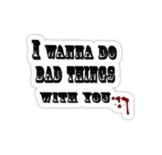 True Blood - I wanna do bad things with you - T-Shirt by VamireBlood