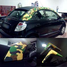 Wrapping: C3 pluriel Piantoni e fregi camouflage