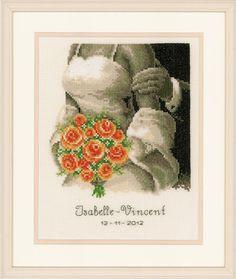 The Bouquet - Wedding Cross Stitch Kit
