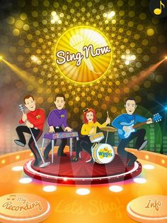 Sing with the Wiggles (best free Android apps for kids)