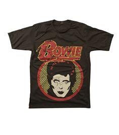 @Who What Wear - StudioMFshop                 David Bowie T-Shirt ($18)